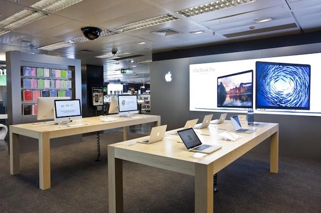 Área Apple no El Corte Inglés em Barcelona