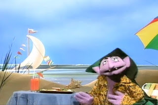 When the Count goes on vacation counts new things. The Count sings Counting Vacation. Sesame Street 123 Count with Me