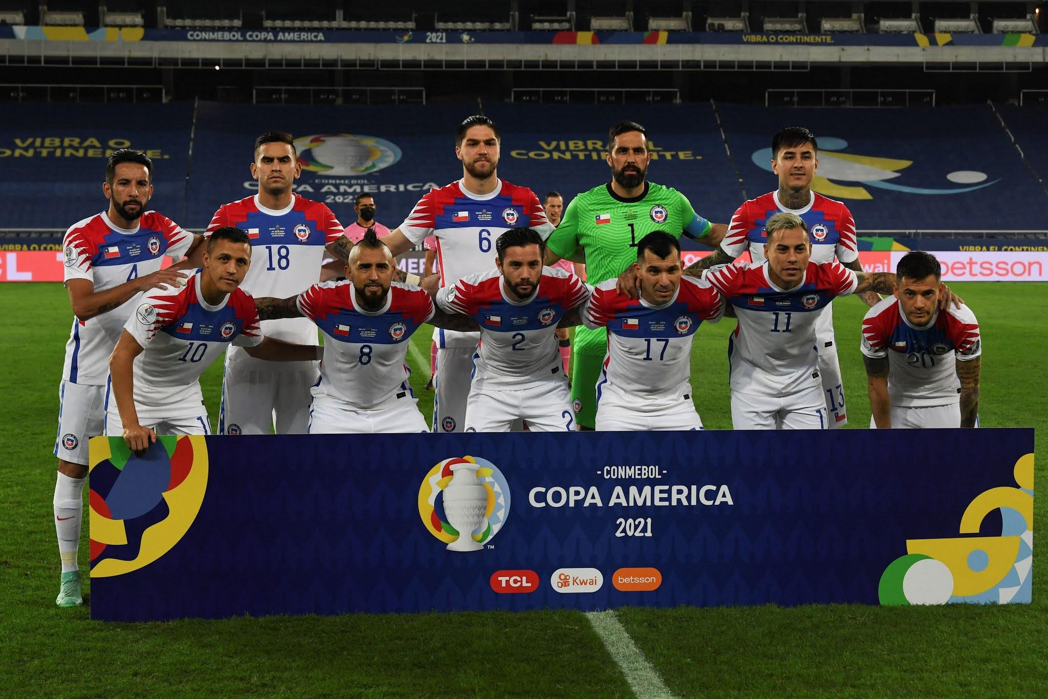 Formación de Chile ante Brasil, Copa América 2021, 2 de julio