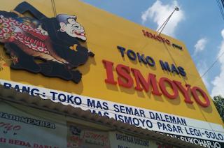 Toko Mas Ismoyo Sukoharjo
