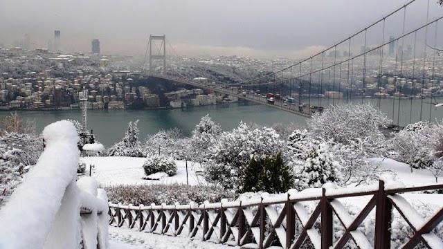 شتاء تركيا مدينة سكاريا