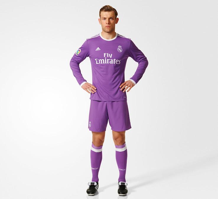 timeless design 742de 3ed99 Real Madrid 16-17 Away Released - Footy Headlines
