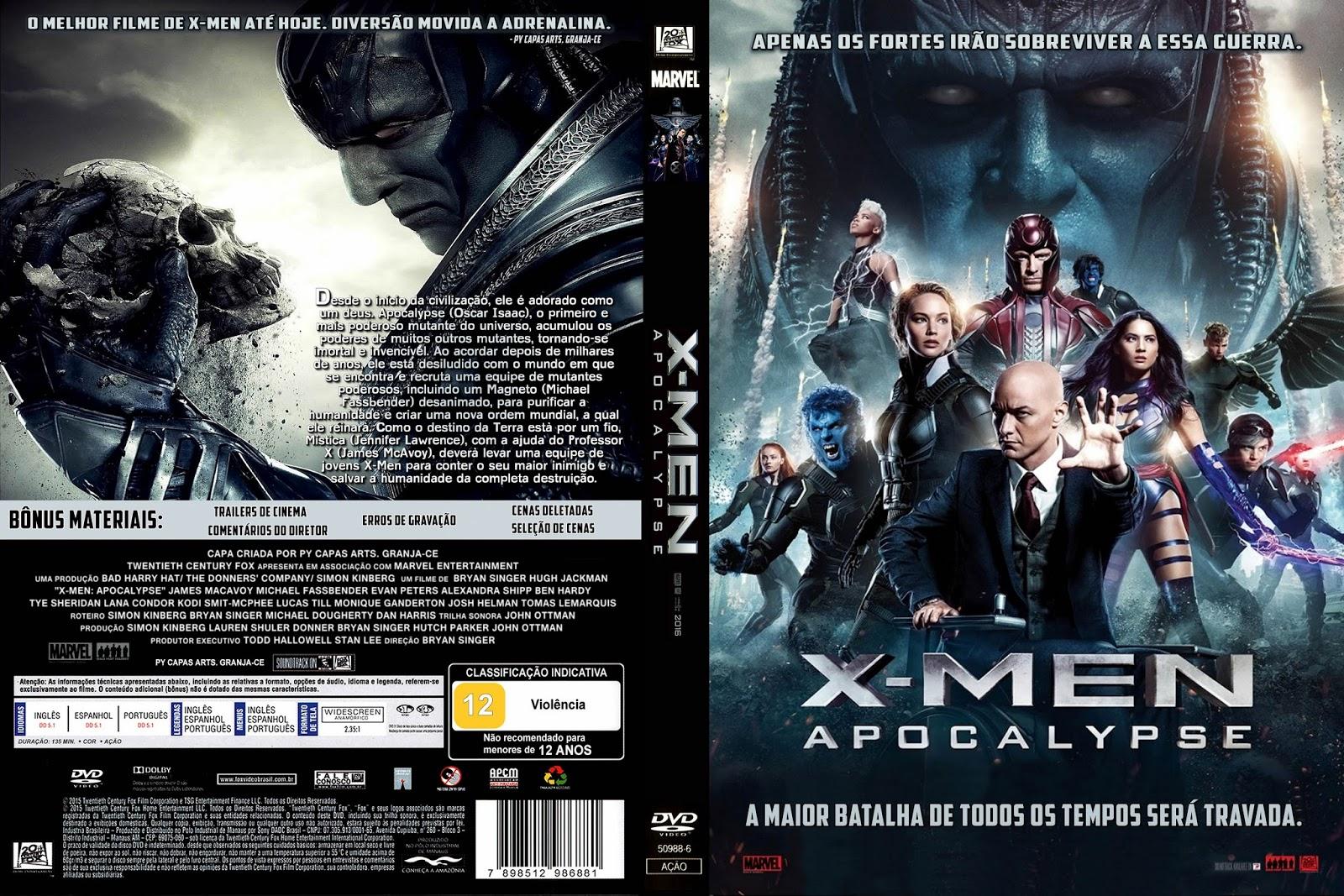 X-Men Apocalipse BDRip Dual Áudio X-Men Apocalipse BDRip Dual Áudio X Men 2B 2BApocalypse