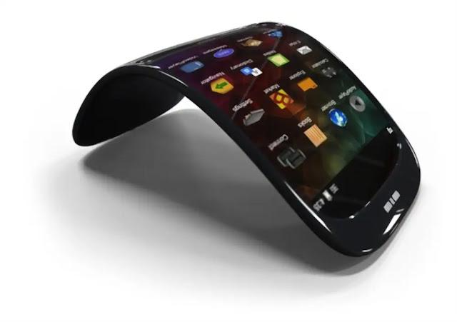 Handphone Fleksibel Produk Teknologi Modern