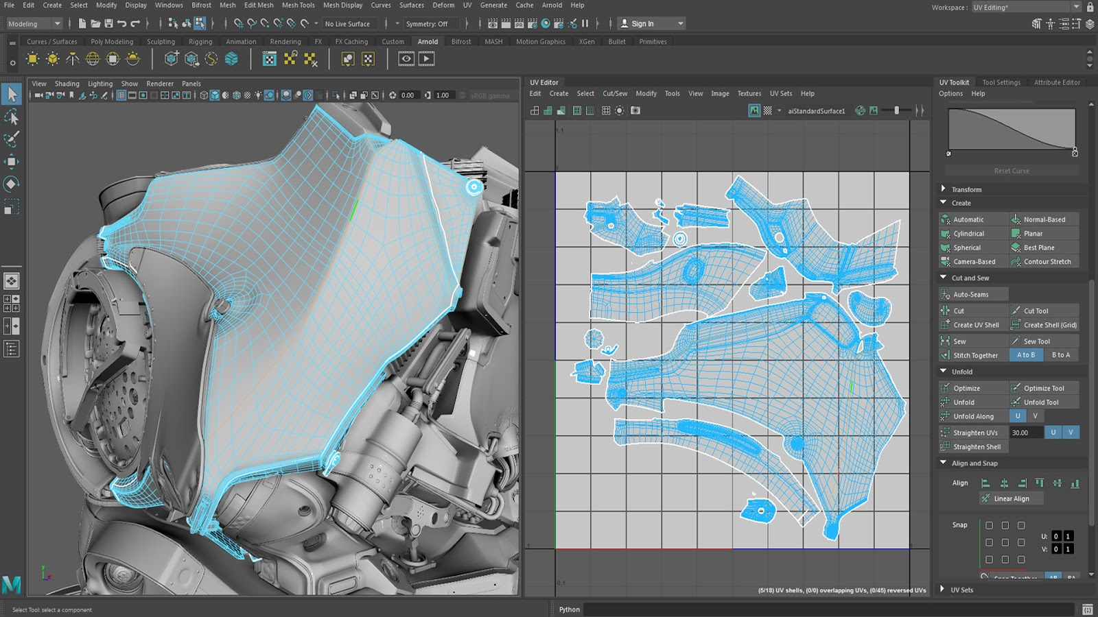 Unreal 3Ds Max Maya Blender Lightmap Overlapping Fix