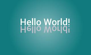 c hellow world