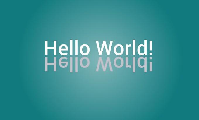 Hello World Programe in c! हेल्लो वर्ड का प्रोग्रमम कैसे बनाए