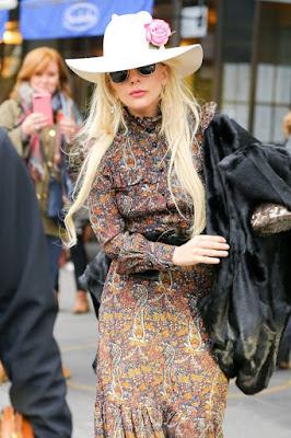 Lady Gaga, à New-York - 24 Novembre 2016