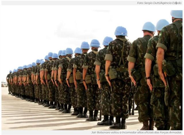 Militares reclamam de fala de Bolsonaro sobre usar Exército contra restrições