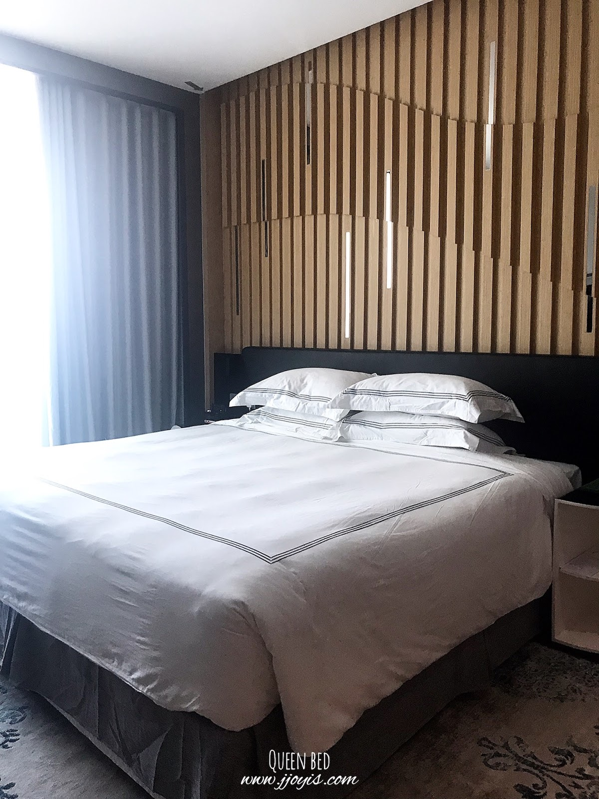 fraser place puteri harbour, malaysia, hotel review, deluxe studio room, overview of room