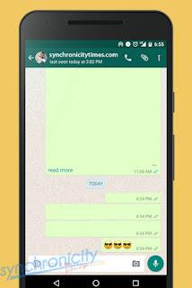 Cara Mengirim Pesan Kosong di WhatsApp Tanpa Aplikasi