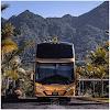 Fotografías de buses nuevos, los fabricantes ahora muestran sus productos en redes sociales