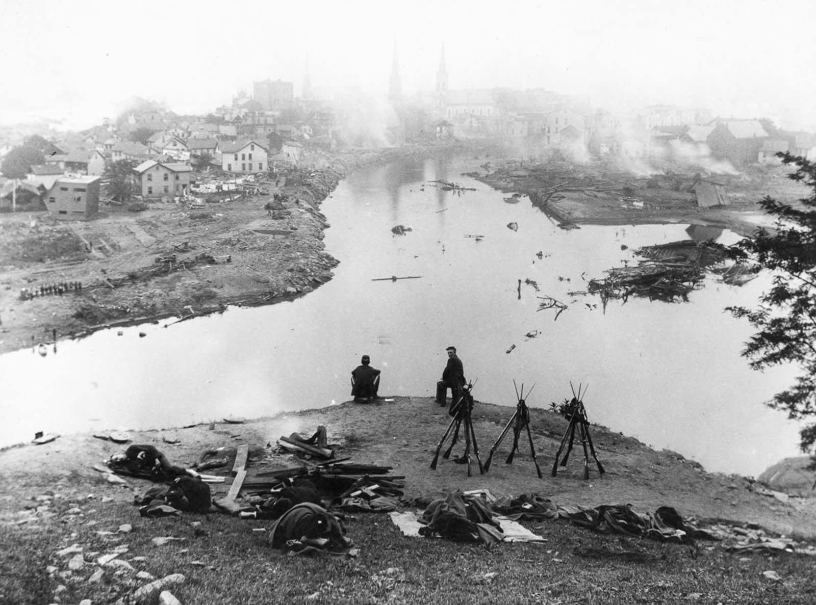 The Johnstown Flood in rare pictures, 1889