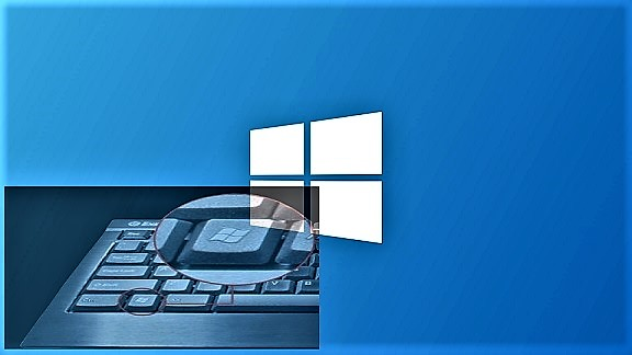 اختصارات الكيبورد لشعار الويندوز في Windows 10