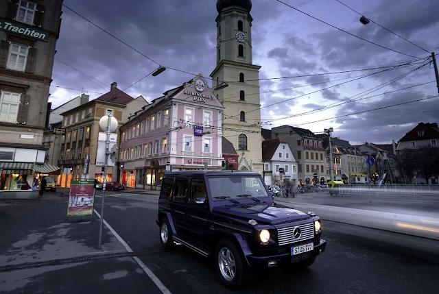 2004 Mercedes-Benz G55 AMG Kompressor