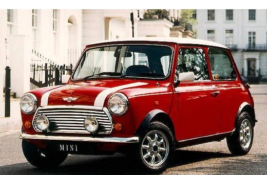 MINI old red