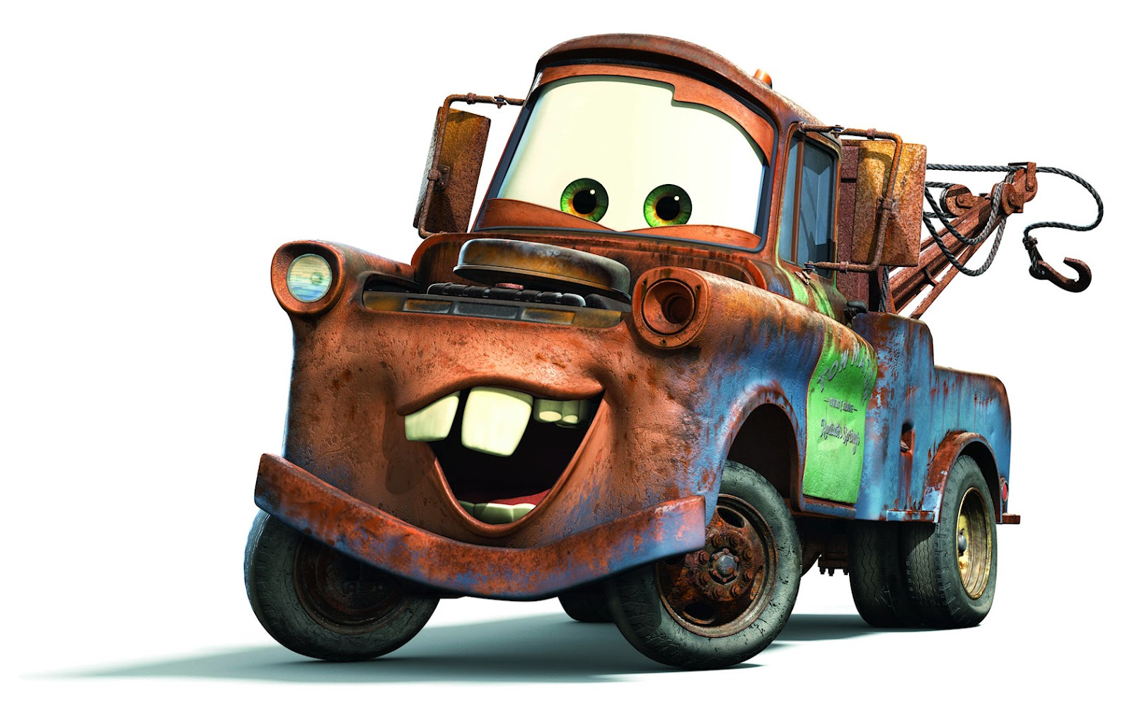 "Disney Cars Characters "" Tow Mater "" Wallpaper"