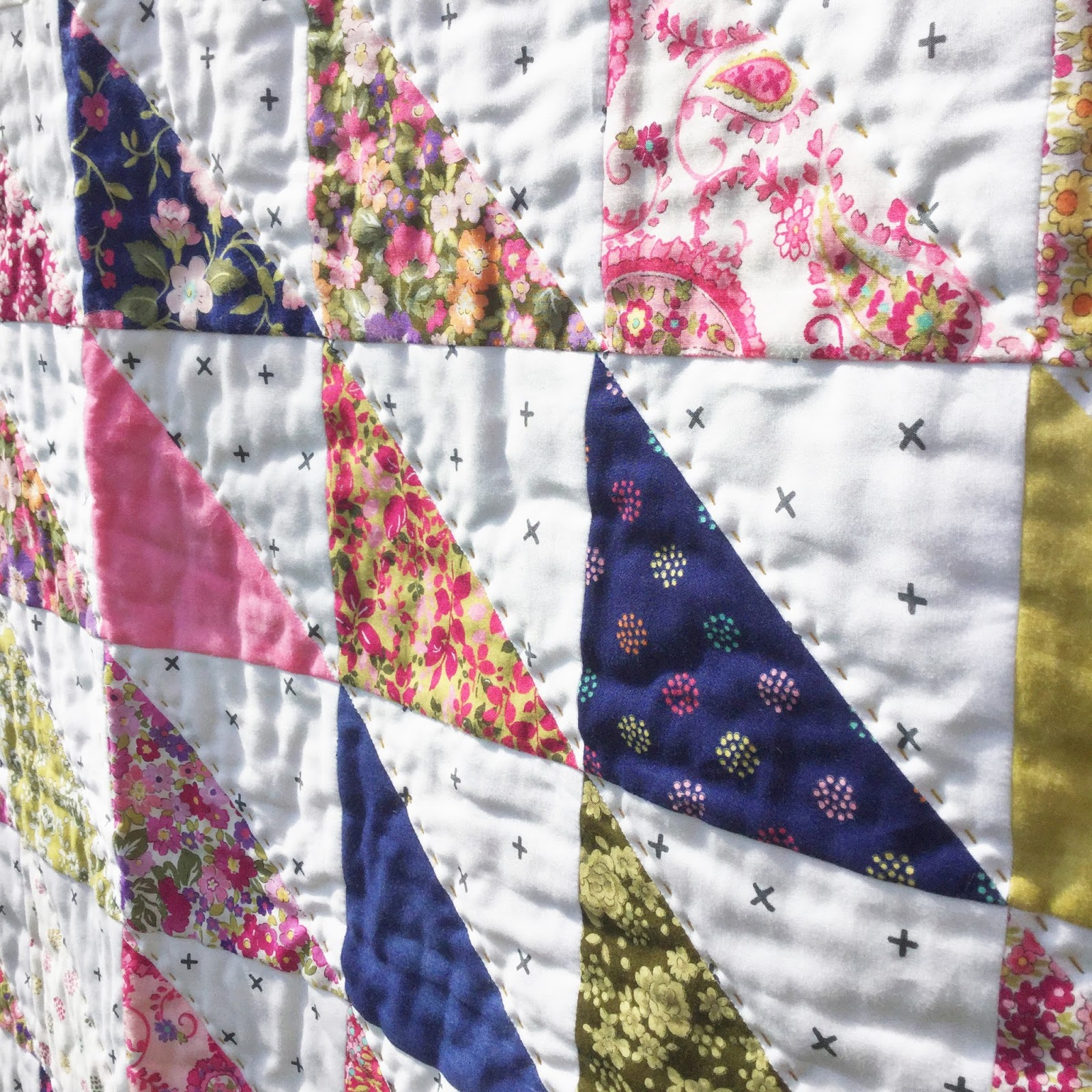 A Little Happy Place: Easy Peasy Charm Square Quilt (Part 2 ... : square quilt - Adamdwight.com
