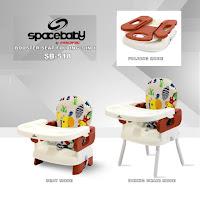 kursi makan bayi spacebaby booster seat