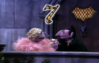 the Countess and the Count sing Seven. Sesame Street Best of Friends