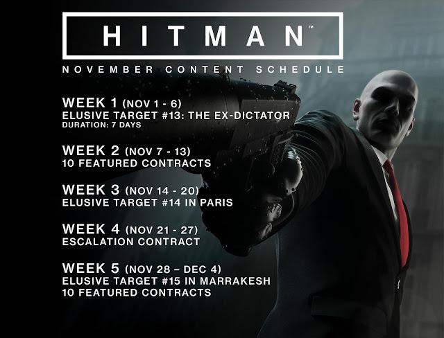 Hitman se actualiza con el perfil offline, usa tus objetos obtenidos en línea