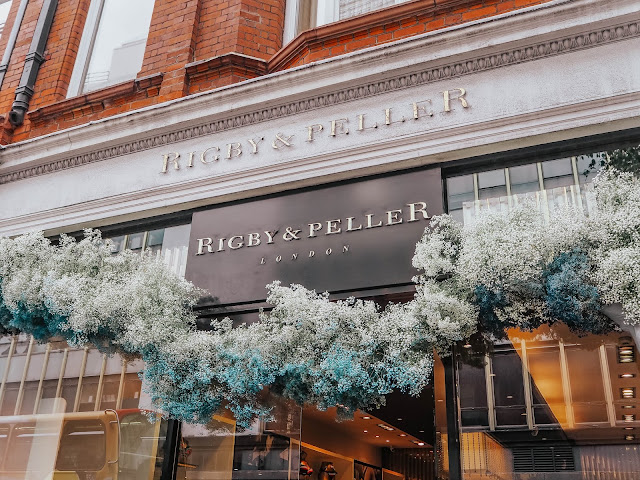 Chelsea in Bloom 2019 Rigby & Peller Floral Display