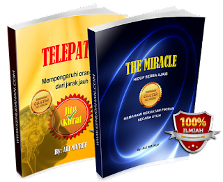 buku the miracle dan telepati ali ma'ruf