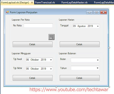 Membuat Aplikasi Penjualan VB .NET Database MySQL - #Part 14
