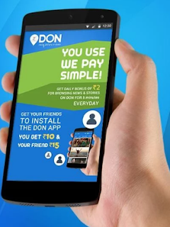 Don app refer and Earn