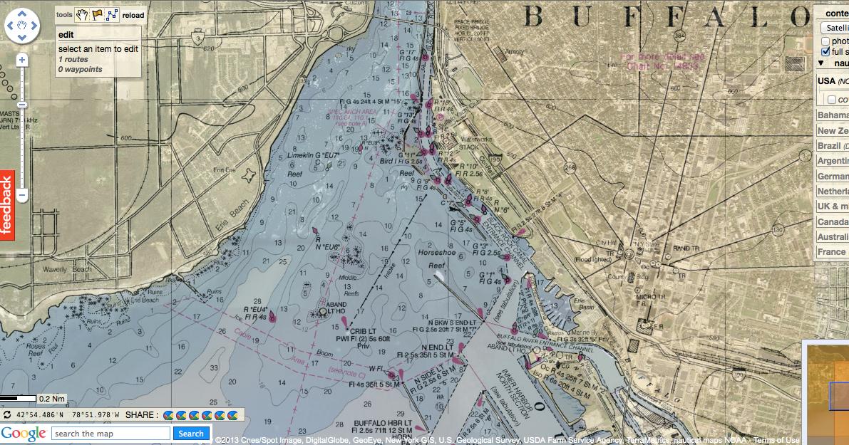 NOAA Chart 12261-Chesapeake Bay Honga Nanticoke Wicomico Rivers and Fishing Bay by East View Geospatial