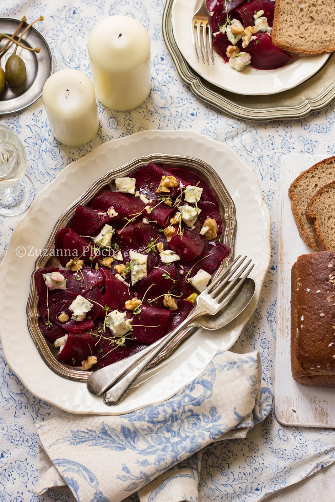 Beetroot salad - Food photography by Zuzanna Ploch, fotografia kulinarna