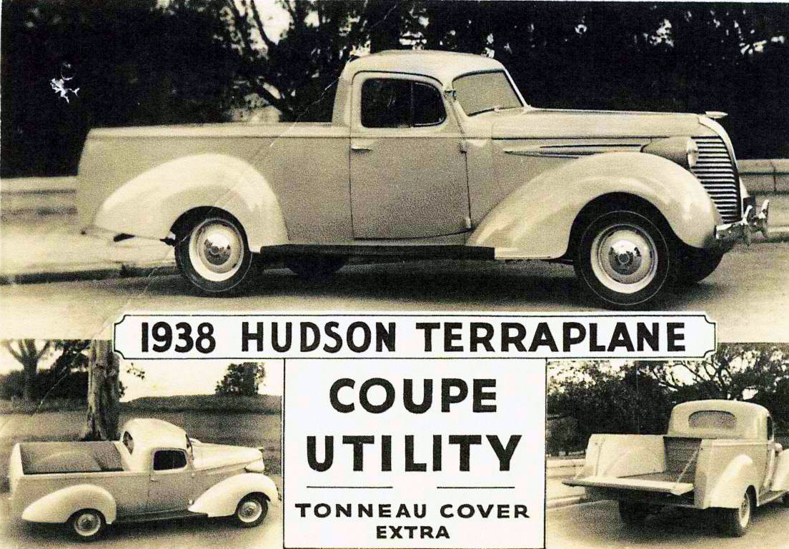 Just A Car Guy Wow 34 Husdon Terraplane Garage Made Truck From Quot Mighty Cord Rv Wiring Likewise 2014 Lexus Factory Diagram Because During Ww2 Trucks Were Given More Gas Rations And Lot Useful To