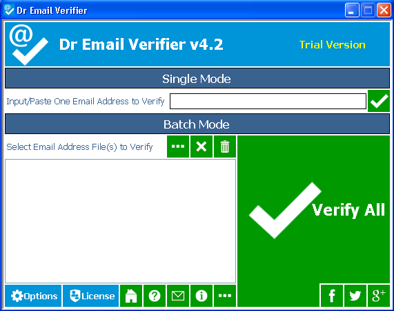 [GIVEAWAY] Dr Email Verifier [Ceck and Verify Emails]