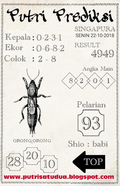 angkah-1 Code Syair Singapura