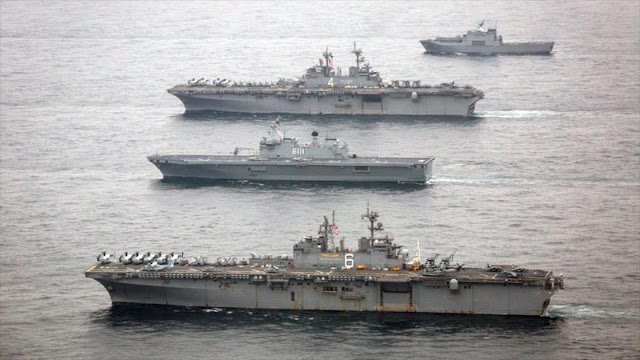"""EEUU y Seúl practican """"ataque preventivo"""" contra Corea del Norte"""
