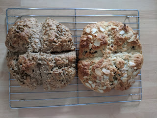 Tear-and-Share scones