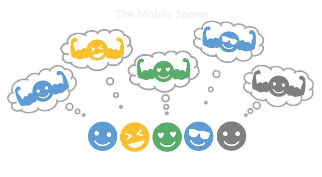 We are all egocentric bias - the mobile spoon