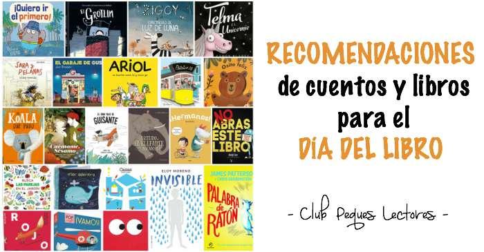 selección cuentos infantiles y juveniles recomendaciones día del libro 2018