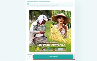 cara buat twibbonize hari krida pertanian 4- kanalmu
