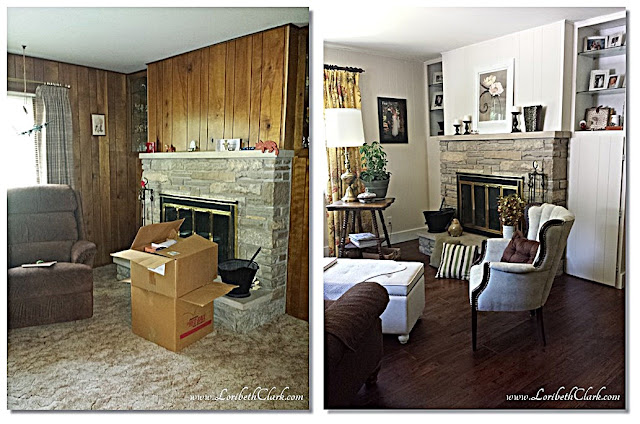 Before and After Sitting Room