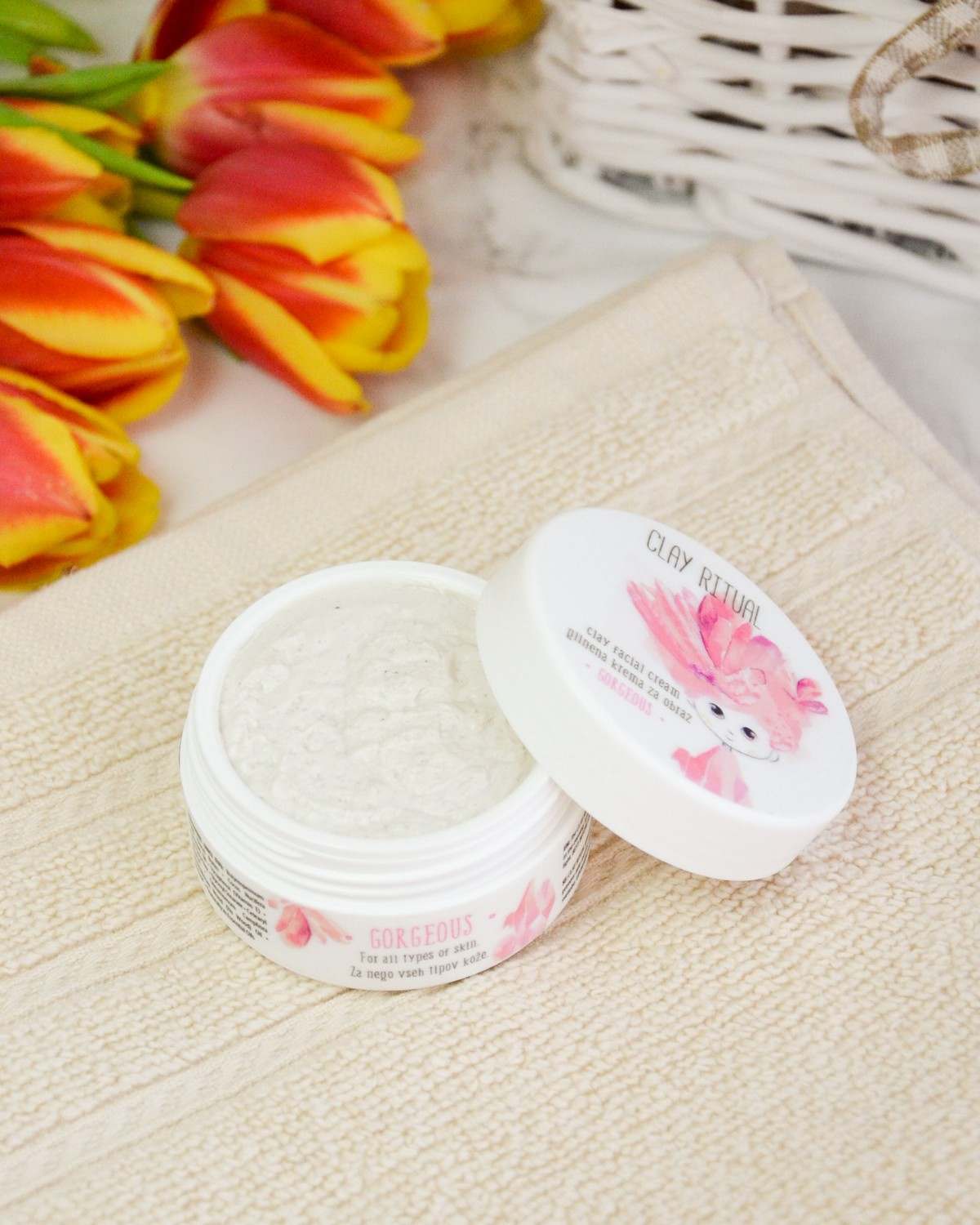 Clay Facial Cream from Clay Ritual - Glina.si Glinena Krema