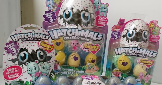 Hatchimals CollEGGtibles Series 3 - Review