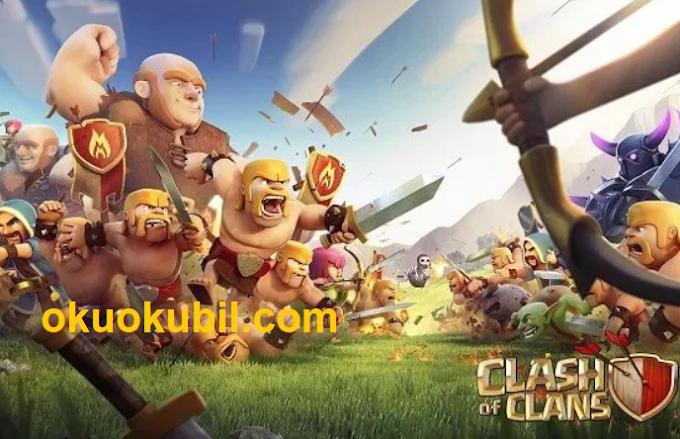 Clash of Clans 13.0.25 Sınırsız Birlik + Sınırsız Maden Hileli Server 2020