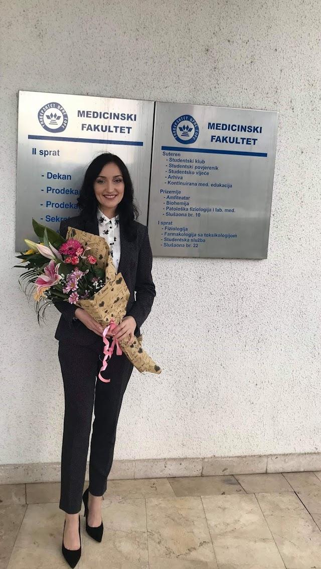 Merida Mehmedović-diplomirani doktor medicine