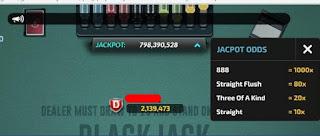 jackpot blackjack santa