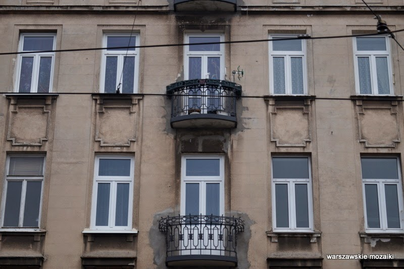 zabytek Kamienica Adolfa Dybicza Warszawa Praga Północ warszawska Praga balkony
