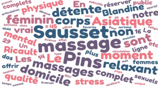 Massage complet à domicile Sausset les Pins;