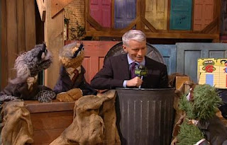 Anderson Cooper interviews Oscar and his friends. Sesame Street Best of Friends