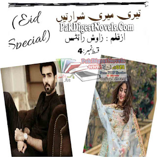 Teri Meri Sharartain Episode 4 Novel By Zawish Writes Pdf Free Download