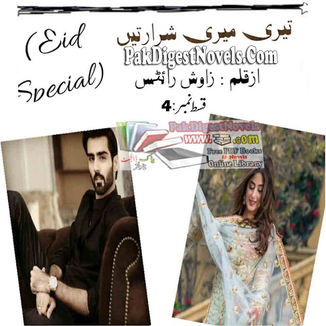 Teri Meri Sharartain Episode 4 Novel By Zawish Writes Pdf Free Download